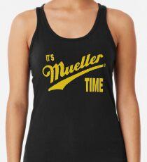 es & amp; s Mueller Zeit - GOLD Racerback Tank Top