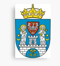 Poznan Coat Of Arms Canvas Print