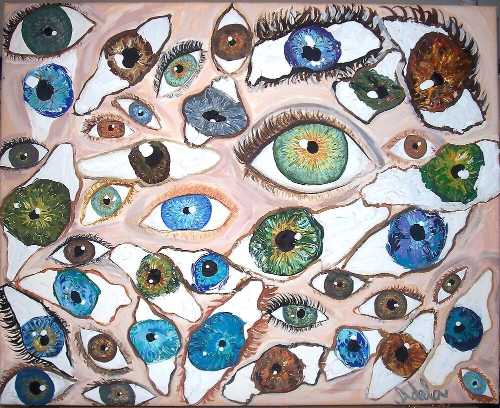 """""""Eyes"""" by Adela bellflower"""