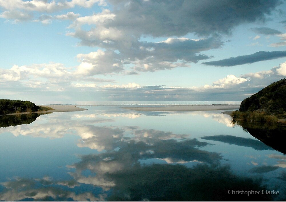 Cool Reflection East Coast Tasmania by Christopher Clarke
