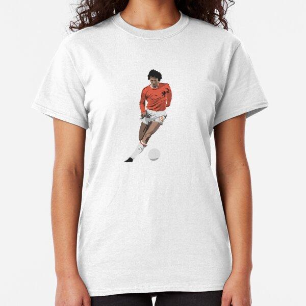 Johan Cruyff 70/'s Holland Football Soccer Dutch Ajax Classic T Shirt Tee Winner