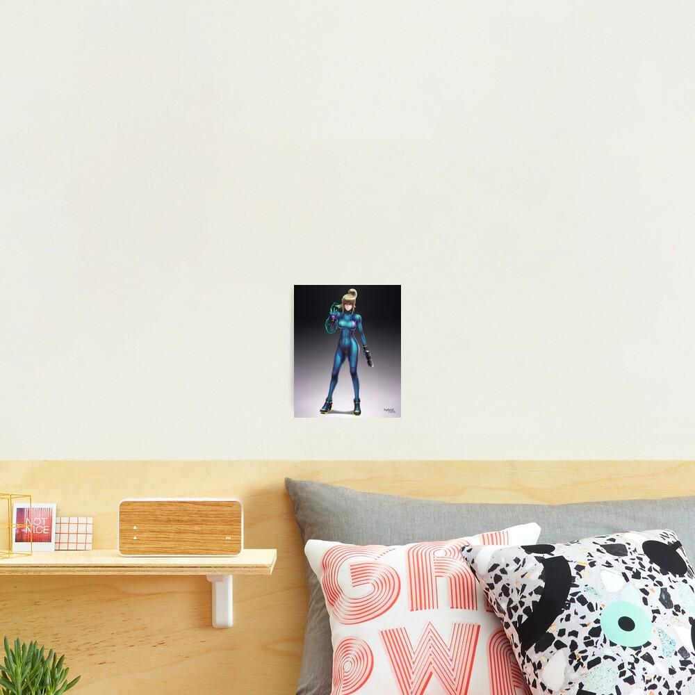 Zero Suit Samus 2014 Photographic Print