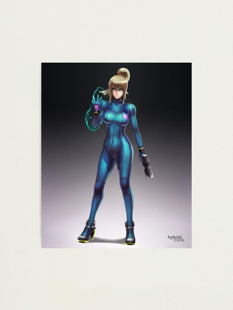 Alternate view of Zero Suit Samus 2014 Photographic Print