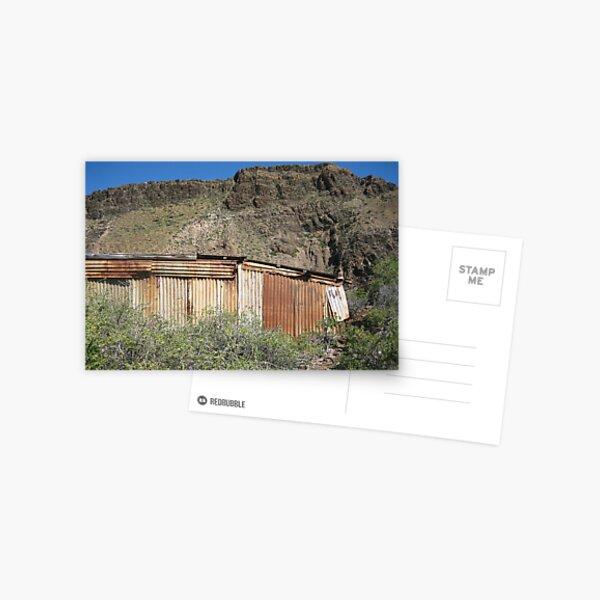 derelict boat shed Postcard