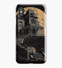 Bates Motel house  iPhone Case/Skin