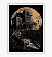 Bates Motel house  Sticker