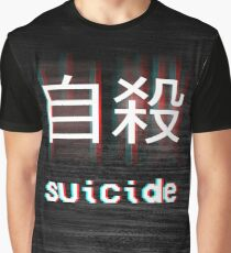 Japanese Suicide Graphic T-Shirt