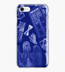 Doctor Who Blueprint iPhone Case/Skin