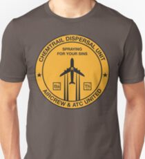 Chemtrail Dispersal Unit Unisex T-Shirt