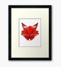Cunning Fox Framed Print