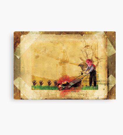 HAND GARDEN Canvas Print