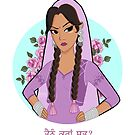 Punjabi Girl Shirt by anumation