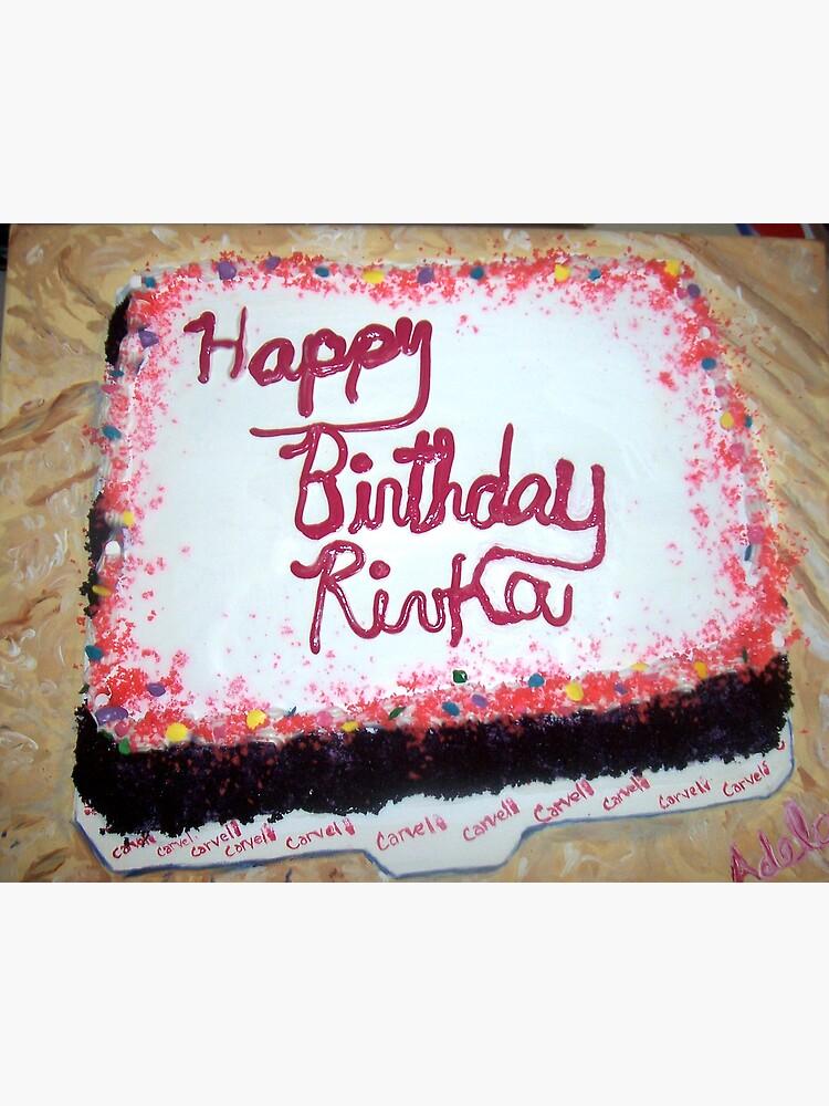 Awe Inspiring Birthday Cake Greeting Card By Adela Redbubble Funny Birthday Cards Online Necthendildamsfinfo