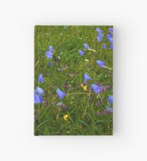 A sea of Harebells, Rossbeg, Co Donegal Hardcover Journal