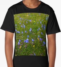 A sea of Harebells, Rossbeg, Co Donegal Long T-Shirt