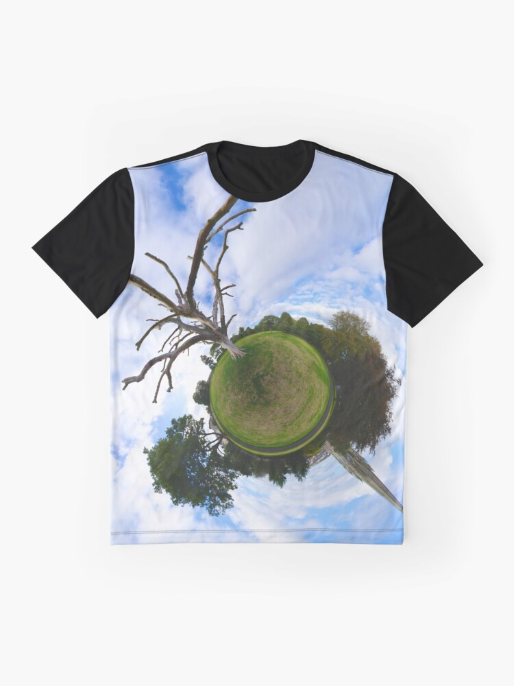 Alternate view of Dead Elm Tree in Brooke Park, Derry Graphic T-Shirt