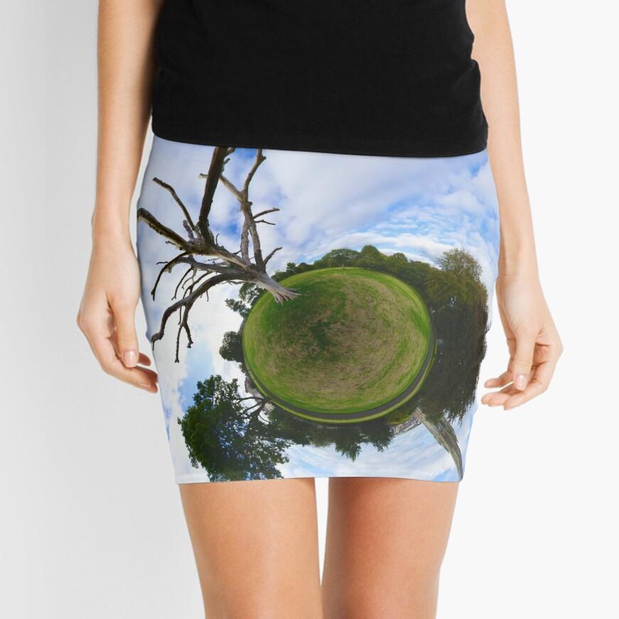 Dead Elm Tree in Brooke Park, Derry Mini Skirt
