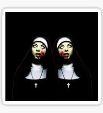 Horror nuns Sticker