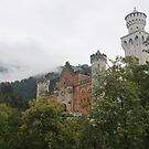 Neuschwanstein Castle Entrance by Elena Skvortsova