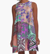 Tracy Porter / Poetic Wanderlust: Perfectly Imperfect (print) A-Line Dress