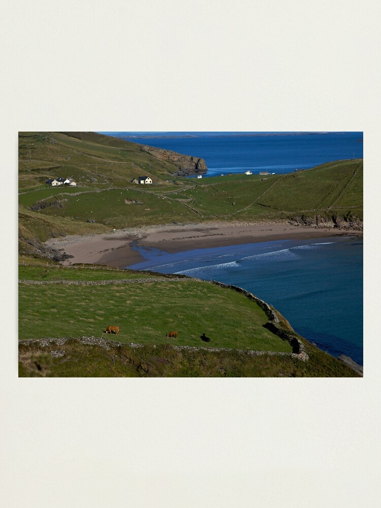 Alternate view of Traloar Beach, Muckross Head, Donegal Photographic Print