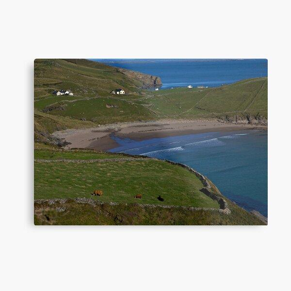 Traloar Beach, Muckross Head, Donegal Metal Print