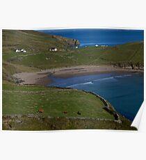 Traloar Beach, Muckross Head, Donegal Poster