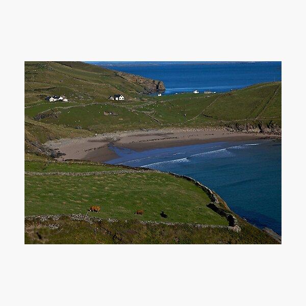 Traloar Beach, Muckross Head, Donegal Photographic Print