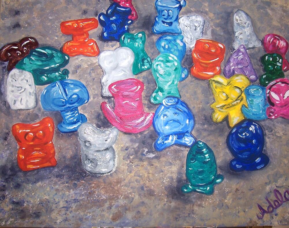 """""""Crazy Toys"""" by Adela bellflower"""