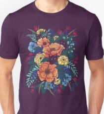 Camiseta unisex Flores silvestres