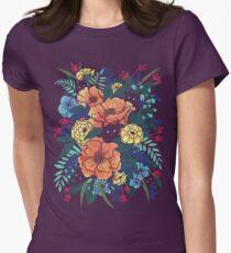 Camiseta entallada Flores silvestres