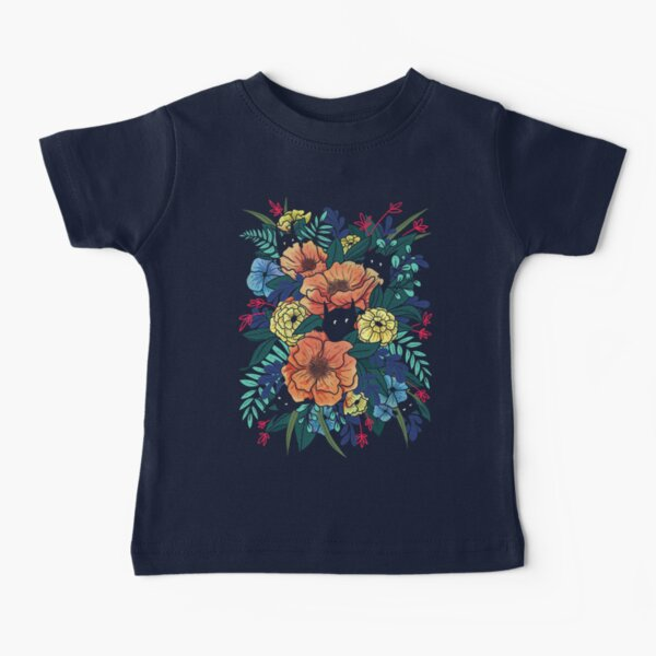Wild Flowers Baby T-Shirt