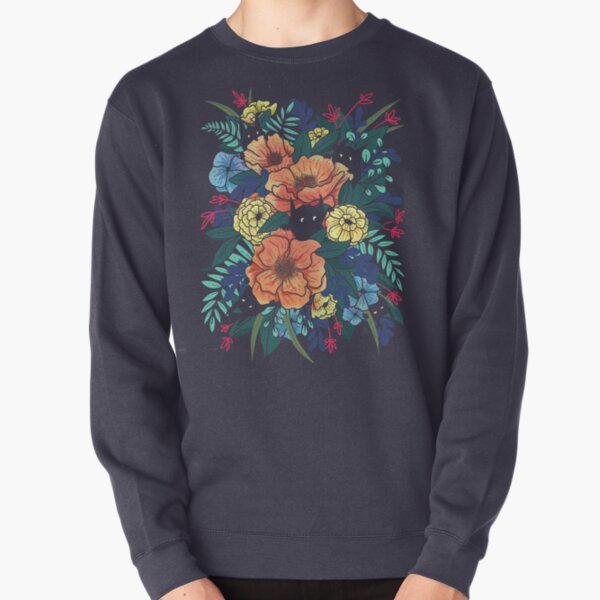 Wild Flowers Pullover Sweatshirt