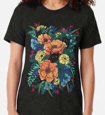 Wilde Blumen Vintage T-Shirt