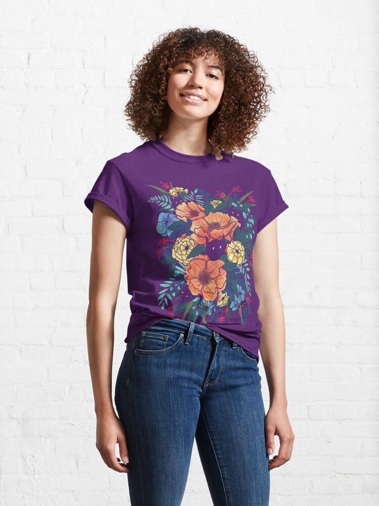 Alternate view of Wild Flowers Classic T-Shirt