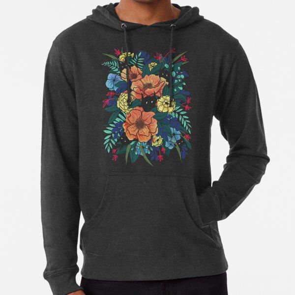 Wild Flowers Lightweight Hoodie