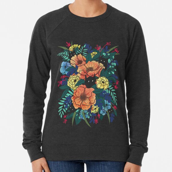 Wild Flowers Lightweight Sweatshirt