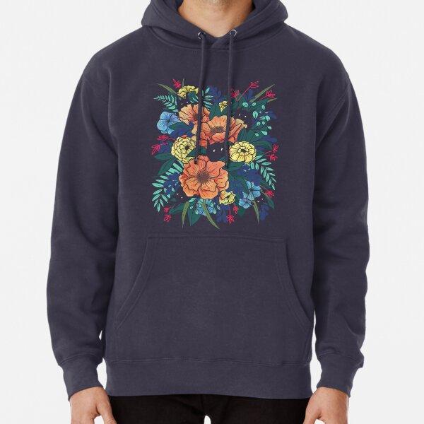 Wild Flowers Pullover Hoodie