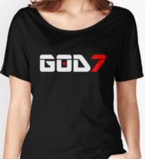 ​♫♥I Love GOD7-KPop Forever♥♪ Women's Relaxed Fit T-Shirt