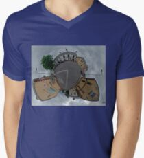 Carrick Crossroads, Donegal - Sky Out Men's V-Neck T-Shirt