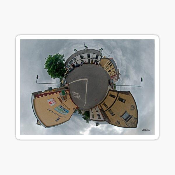 Carrick Crossroads, Donegal - Sky Out Sticker