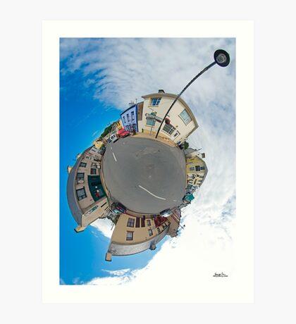 Kilcar Main Street - Sky Out Art Print