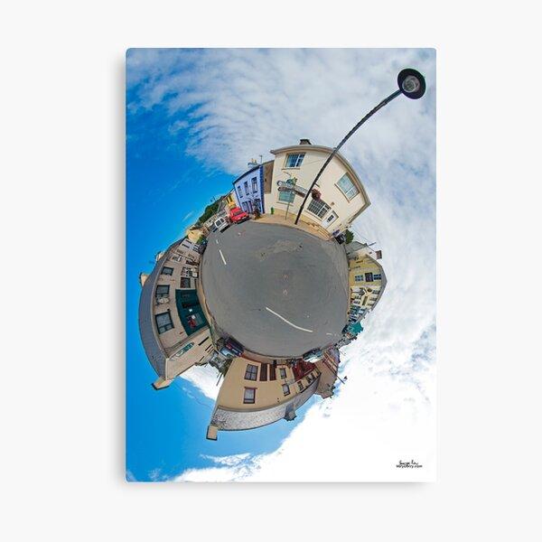Kilcar Main Street - Sky Out Canvas Print