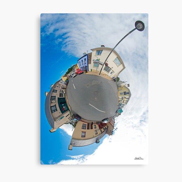 Kilcar Main Street - Sky Out Metal Print