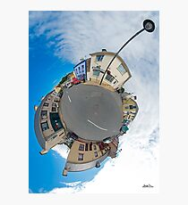 Kilcar Main Street - Sky Out Photographic Print