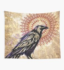 Raven Magic Wall Tapestry