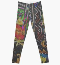 Tracy Porter / Poetic Wanderlust: Damn Fine Trouble (print) Leggings