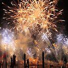 Fireworks on the Lagoon by David Lamb