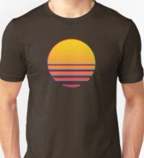 Outrun Retro Sun T-Shirt
