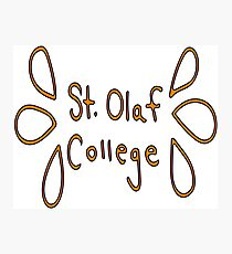 St. Olaf College Photographic Print